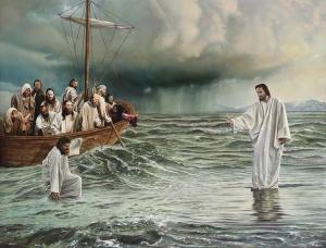 Walking on Faith by Benjamin McPherson