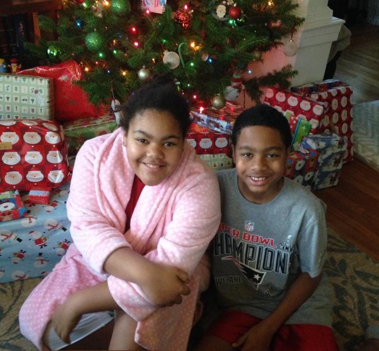 Cy & Reena Christmas Grandma